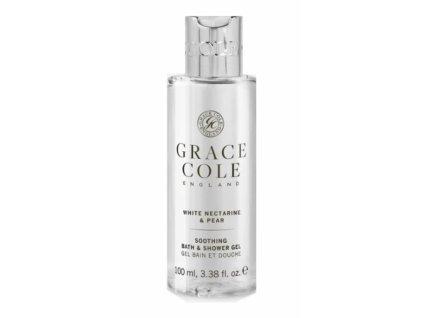 Grace Cole Sprchový gel v cestovní verzi - White Nectarine & Pear, 100ml