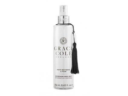 Grace Cole Osvěžující mlha na tělo - White Nectarine & Pear, 250ml