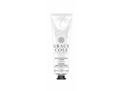 Grace Cole Krém na ruce a nehty - White Nectarine & Pear, 30ml