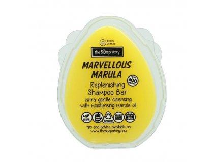 The Soap Story Vyživující tuhý šampon - Marvellous Marula, 100g