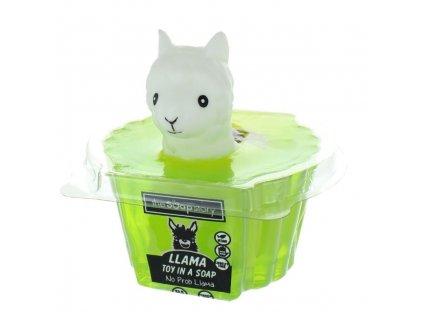 The Soap Story Mýdlo s hračkou - Lama, 90g