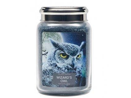 Village Candle Vonná svíčka ve skle, Čarodějova Sova - Wizard´s Owl 26oz