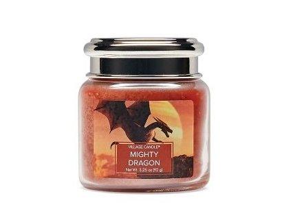 Village Candle Vonná svíčka ve skle, Mocný Drak - Mighty Dragon 3,75oz