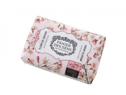 Panier des Sens Mýdlo s bambuckým máslem - Třešňový květ 200g