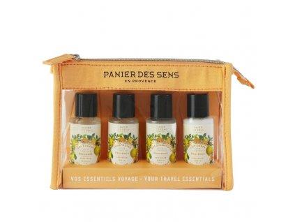 Panier des Sens Cestovní sada - Provence, 4ks