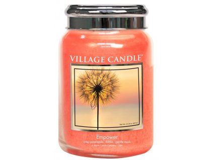 Village Candle Vonná svíčka ve skle - Empower, 26oz