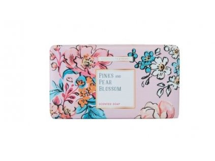 Heathcote & Ivory Třikrát jemně mleté mýdlo - Pinks & Pear Blossom, 240g