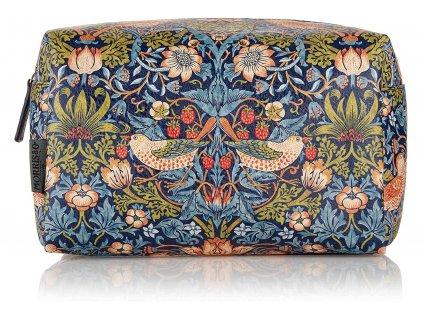 Heathcote & Ivory Velká toaletní taška - Strawberry thief, 1ks
