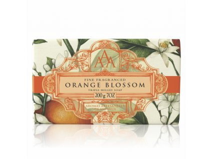 AAA Floral Soap Bar Orange Blossom High Res