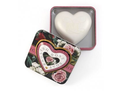 Somerset Toiletry Mýdlo v plechu - Anglická růže, 150g