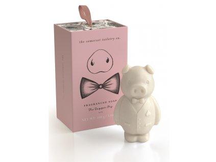 Somerset Toiletry Luxusní mýdlo v Dárkové krabičce - Prasátko, 150g