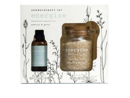 Somerset Toiletry Aromatherapy set Energie - Čajovník, eukalyptus, máta peprná, 2ks