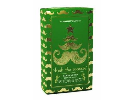 Somerset Toiletry Luxusní vánoční mýdlo - Santalové dřevo, 200g