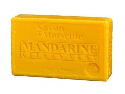 Le Chatelard Mýdlo - Mandarinka a limetka (Mandarine Citron vert), 100g