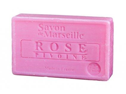 Le Chatelard Mýdlo - Růže a pivoňka (Rose Pivoine), 100g