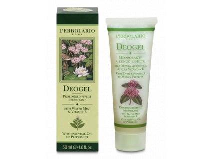 L´Erbolario Deogel - Mint & Vitamin E, 50ml