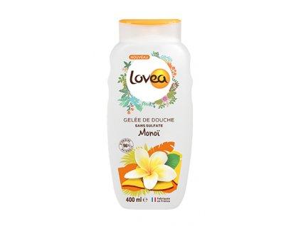 Lovea Sprchový gel - Monoi, 400ml