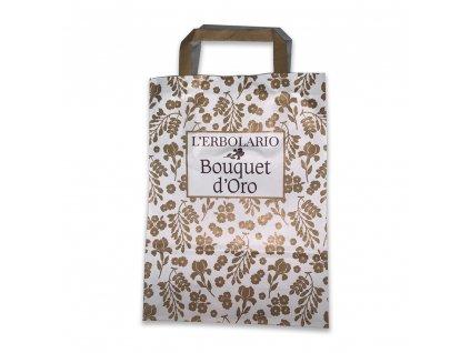 L'Erbolario dárková taška zlatá