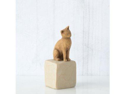 Willow Tree - Moje kočička (světlá)