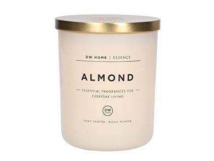 DW Home Vonná svíčka ve skle Almond, 15oz