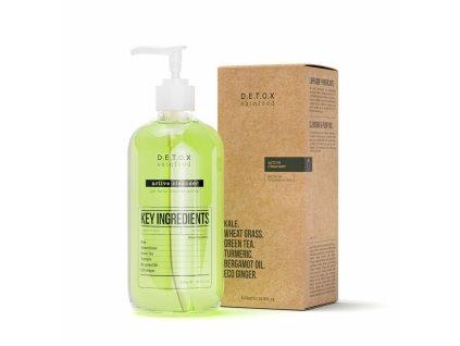 Detox Skinfood Čistící pleťový gel, 500 ml