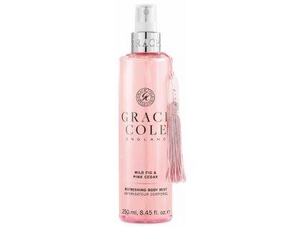 Grace Cole Osvěžující mlha na tělo - Wild Fig & Pink Cedar, 250ml