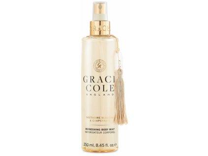Grace Cole Osvěžující mlha na tělo - Nectarine Blossom & Grapefruit, 250ml