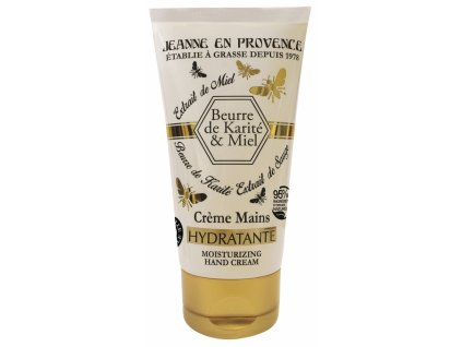 Jeanne en Provence Krém na ruce - Bambucké máslo a med, 75ml