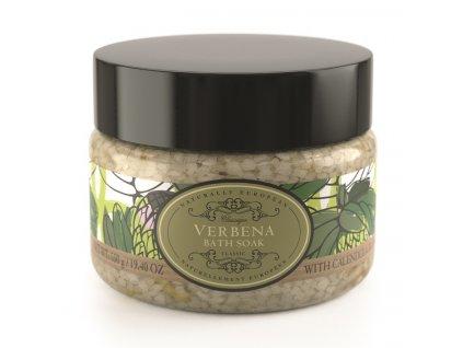 Somerset Toiletry Koupelová sůl - Verbena + Květy měsíčku lékařského, 550g