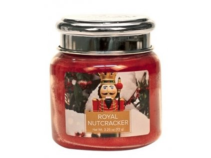 Village Candle Vonná svíčka ve skle - Royal Nutcracker, 3,75oz