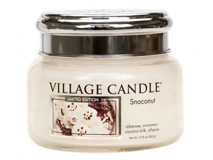 Village Candle Vonná svíčka ve skle - Snoconut, 11oz