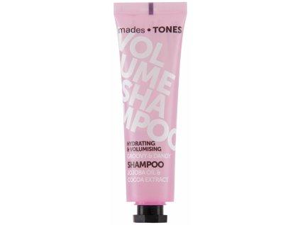 Mades Hydratační šampón pro větší objem - Jojoba & Kakao, 300ml