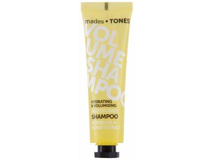 Mades Hydratační šampón pro větší objem - Jojoba & Honey, 65ml
