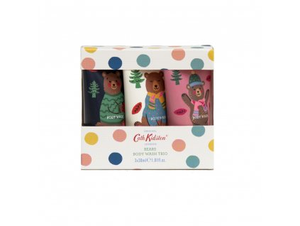 Heathcote & Ivory Sada mycích gelů - Bears, 3x30ml