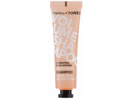 Mades Hydratační šampón pro větší objem - Jojoba & Albízie, 300ml