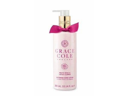 Grace Cole Jemné mléko na ruce - Bílá růže & Lotosový květ, 300ml