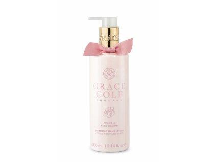 Grace Cole Jemné mléko na ruce - Pivoňka & Růžová Orchidej, 300ml
