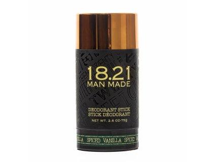 18.21 Man Made Pánský deodorant - Spiced Vanilla, 75g