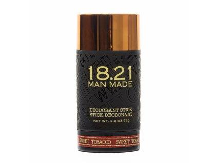 18.21 Man Made Pánský deodorant - Sweet Tobacco, 75g