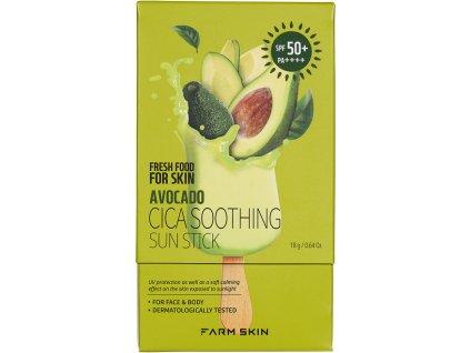 Fresh Food For Skin Ochranná tyčinka na opalování - Avokádo, 18g
