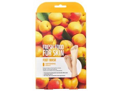 Fresh Food For Skin Sada zjemňujících masek na chodidla, 3ks