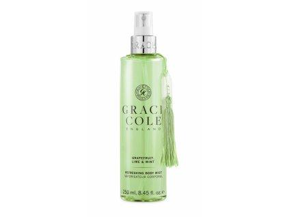 Grace Cole Osvěžující mlha na tělo - Grapefruit, Lime & Mint, 250ml