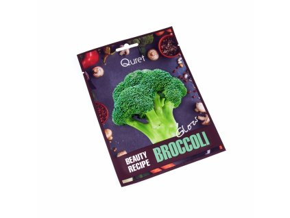 Quret Rozjasňující pleťová maska - Brokolice, 25g