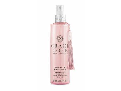 Grace Cole Mlha na tělo a vlasy - Wild Fig & Pink Cedar, 250ml
