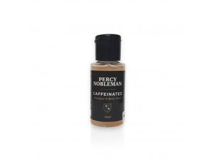 Percy Nobleman Pánský Kofeinový Šampón a Mycí gel, 30ml
