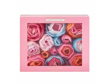 Heathcote & Ivory Koupelové kvítky - Pinks & Pear Blossom, 85g