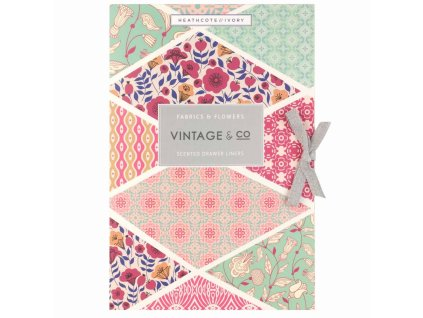 Heathcote & Ivory Parfemovaný DIY papír - Fabrics & Patterns, 6 archů