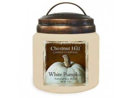 Chestnut Hill white pumpkin candle company 450g 470x