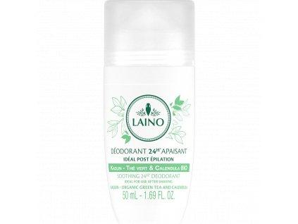 Laino Deodorant s kaolínem a organickým extraktem ze zeleného čaje, 50ml
