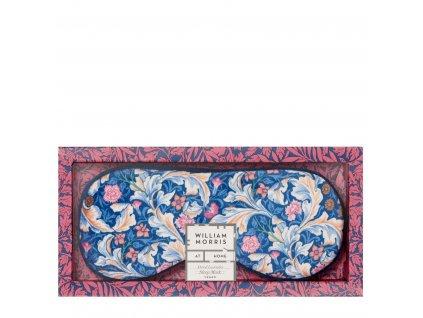 Heathcote & Ivory Sametová maska na oči s levandulí - Dove & Rose - Holubice a růže